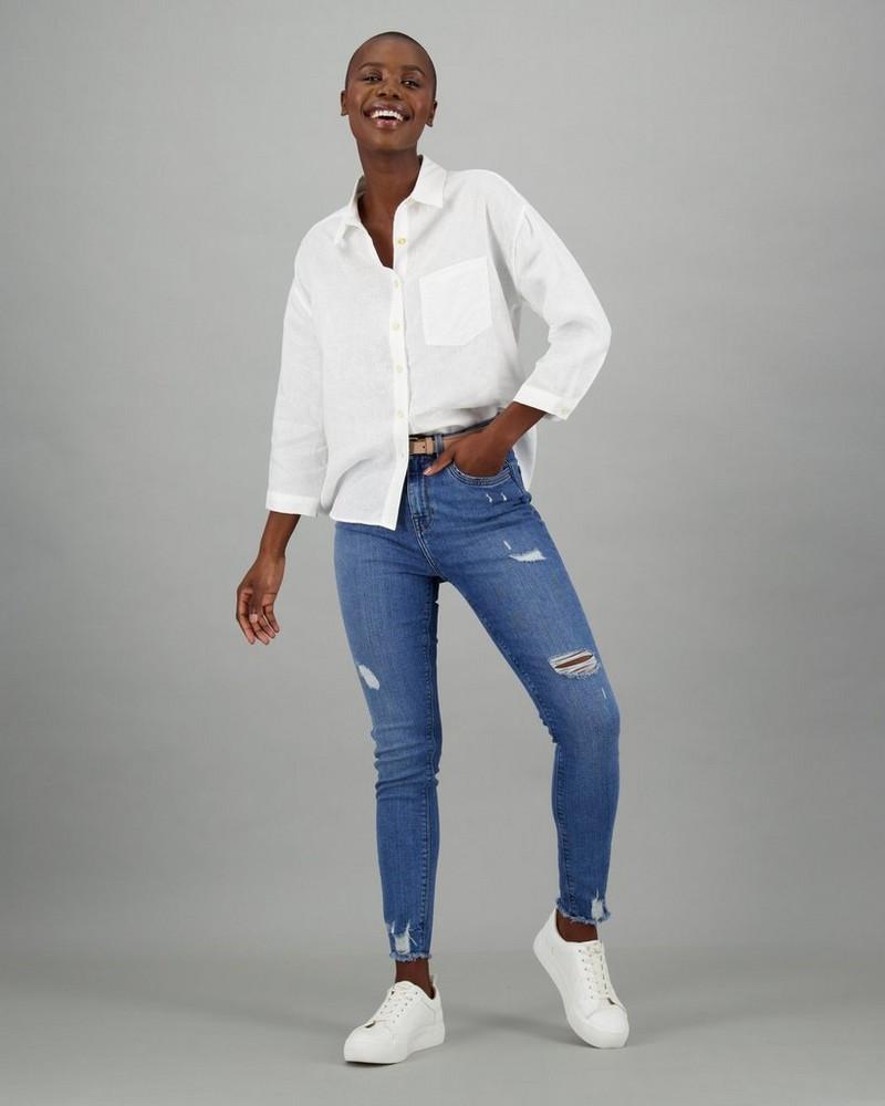 Women's Andie Shirt -  white