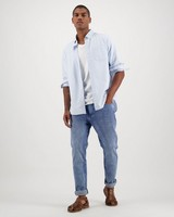 Men's Jasper Regular Fit Shirt -  lightblue