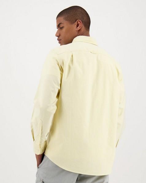 Men's Jasper Regular Fit Shirt -  lemon