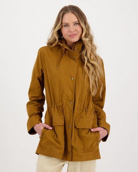 Women's Irina Parka Jacket -  tan
