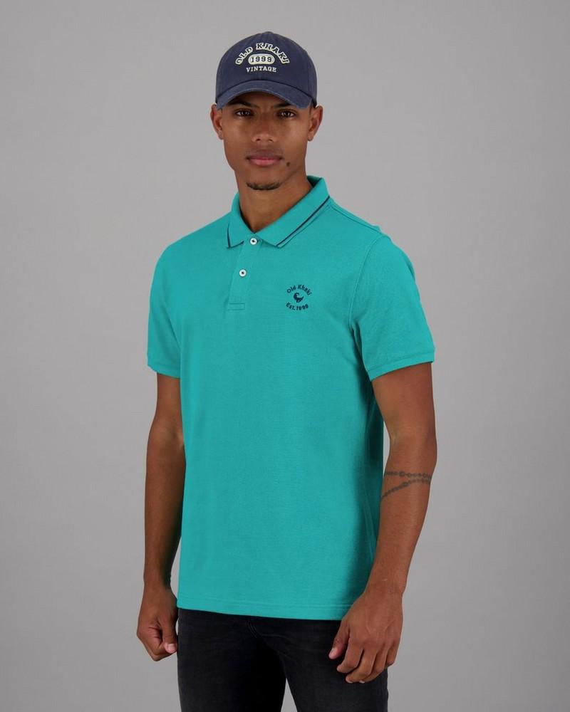 Men's Grant Standard Fit Golfer -  jade