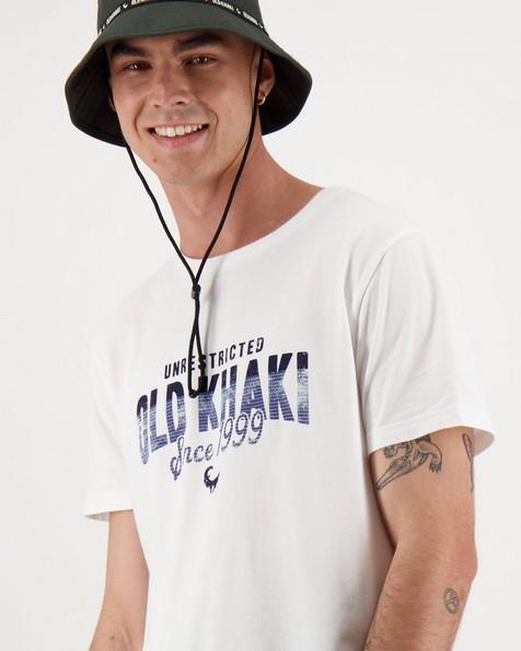 Men's Thomas Standard Fit T-Shirt -  white