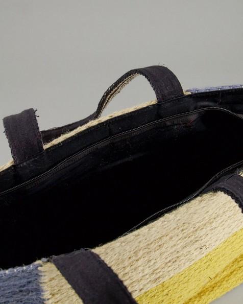 Women's Zahara Kilim Shopper Bag -  midblue