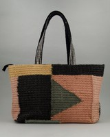 Women's Zahara Kilim Shopper Bag -  assorted