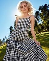 Women's Maggie Tiered Dress -  black