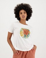 Women's Lulu T-Shirt -  white