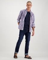 Men's Nicholas Slim Fit Shirt -  pink