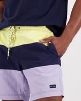 Men's James Swim Shorts -  lilac