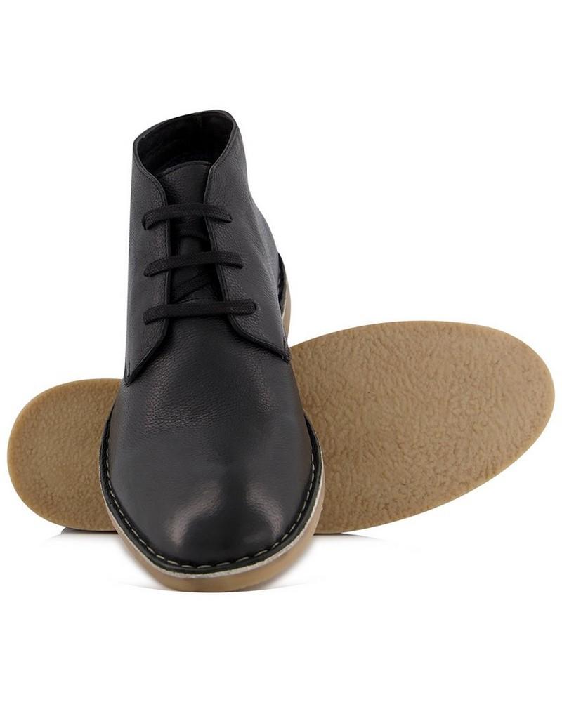 Men's Clark Boot -  black