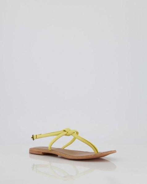 Women's Anja Sandal -  yellow