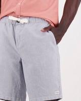 Men's Aron Linen Shorts -  navy