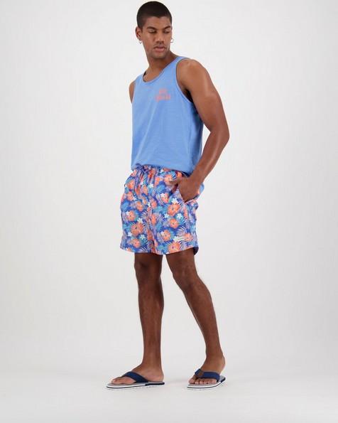 Men's Kai Swim Shorts -  blue