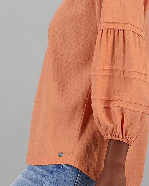 Women's Nandi Blouse -  rust