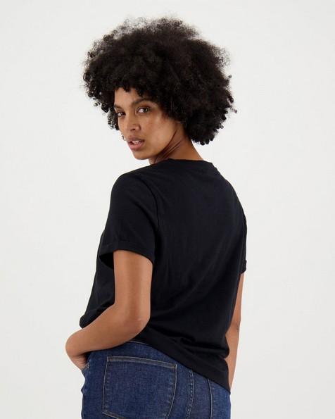 Women's Juniper T-Shirt -  black