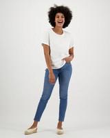 Women's Juniper T-Shirt -  white