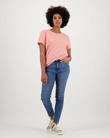 Women's Juniper T-Shirt -  peach