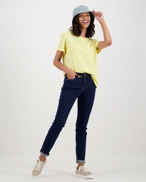 Women's Juniper T-Shirt -  yellow