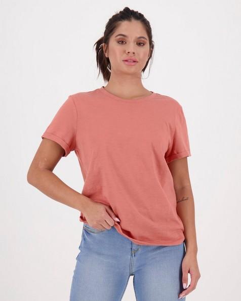 Women's Juniper T-Shirt -  rust