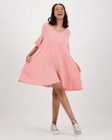 Women's Fiora Dress -  coral