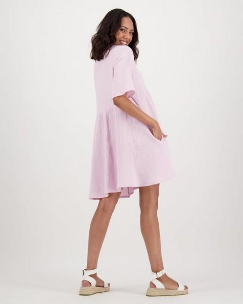Women's Fiora Dress -  lilac
