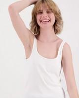 Women's Sophie Cami -  white