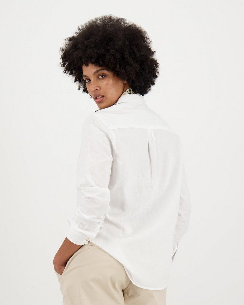 Women's Ellen Shirt -  white