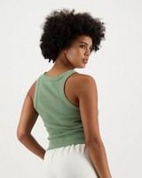 Women's Evella Ribbed Cami -  lightolive