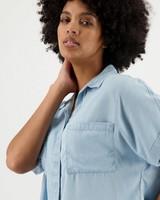 Women's Presli Denim Shirt -  lightblue