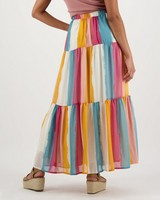Women's Zada Tiered Skirt -  assorted