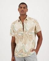 Men's Emile Slim Fit Shirt -  stone