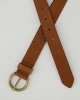Women's Libby Leather Belt -  tan