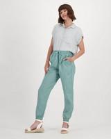 Women's Sierra Linen Pants -  sage