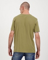 Men's Nathan Relaxed Fit T-Shirt -  olive