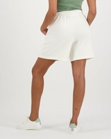 Women's Marie Sweat Shorts -  milk