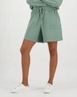 Women's Marie Sweat Shorts -  sage