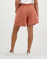 Women's Marie Sweat Shorts -  rust