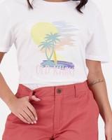 Women's Alissa Chino Shorts -  pink