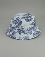 Men's Ernest Reversible Bucket Hat -  navy