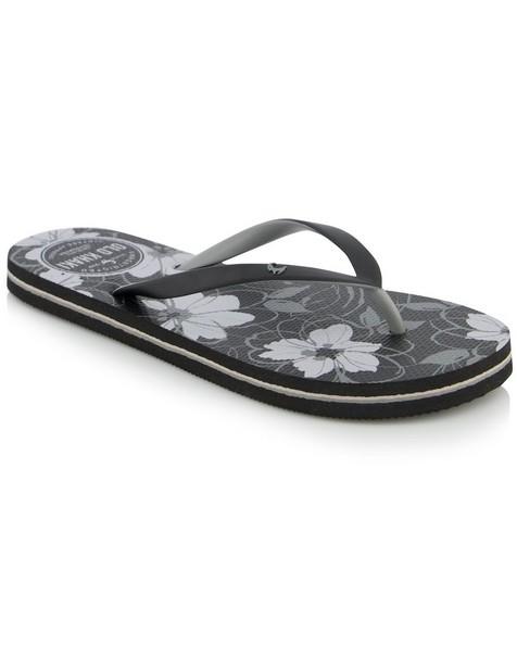Women's Tide Flip Flops -  black