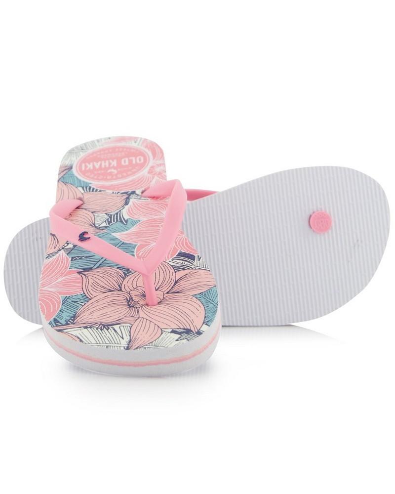 Women's Tide Flip Flops -  white