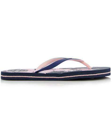 Women's Tide Flip Flops -  navy