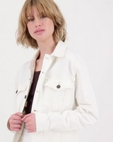 Women's Anisa Denim Jacket -  milk