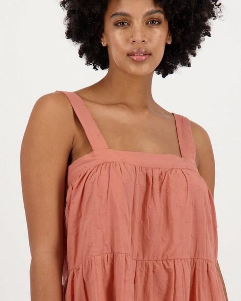 Women's Francie Tiered Dress -  rust