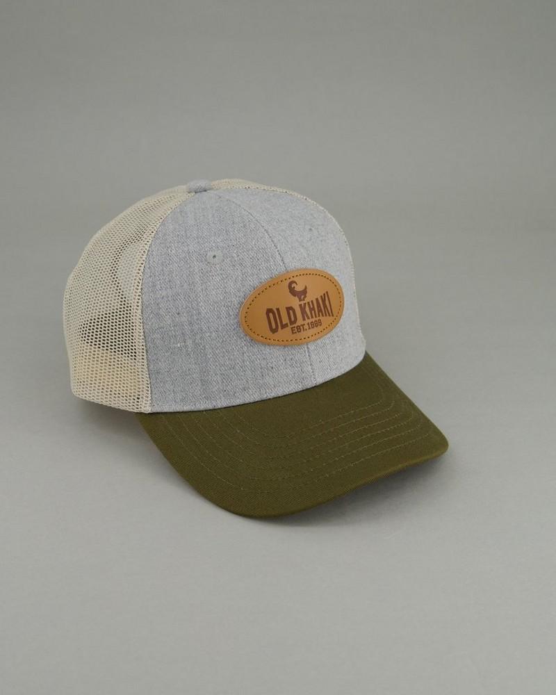Men's Rio Trucker Cap -  lightgrey