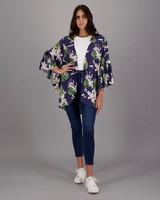 Women's Gwenda Kimono -  navy