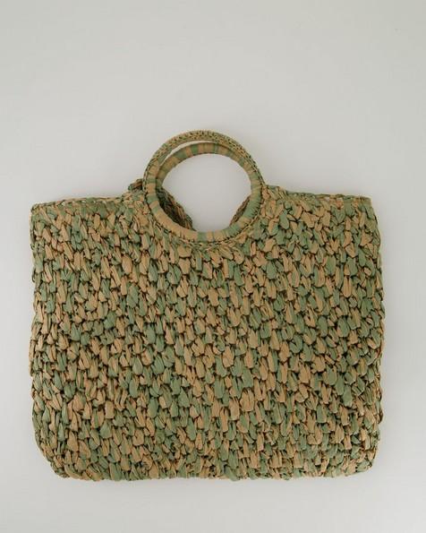 Women's Samaara Straw Bag -  sage