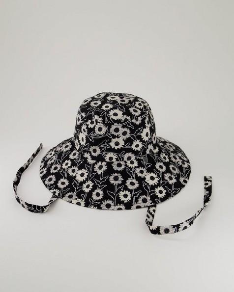 Women's Marissa Floppy Hat -  black