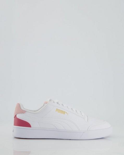 Women's Puma Shuffle Sneaker -  white