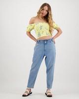 Women's Madi Blouse -  yellow