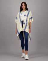 Women's Jordana Kimono -  blue
